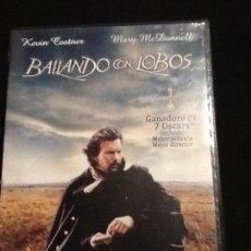 Cine: BAILANDO CON LOBOS DVD. Lote 139917654
