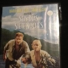 Cine: DVD: SEIS DIAS Y SIETE NOCHES (HARRISON FORD-ANNE HECHE). Lote 139917830