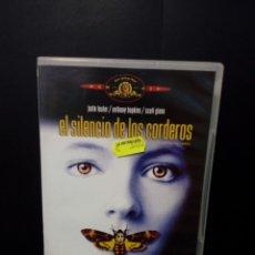 Cine: EL SILENCIO DE LOS CORDEROS DVD. Lote 139943636