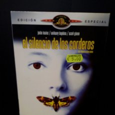 Cine: EL SILENCIO DE LOS CORDEROS DVD. Lote 139943696