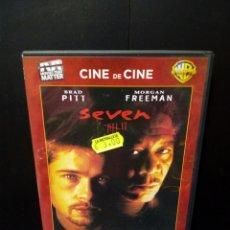 Cine: SEVEN DVD. Lote 139944393
