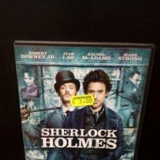 Cine: SHERLOCK HOLMES DVD. Lote 139950296