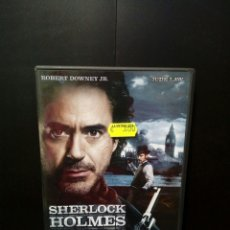 Cine: SHERLOCK HOLMES DVD. Lote 139961213