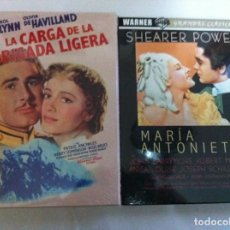 Cine: DVD - LOTE DE 2 (LA CARGA DE LA BRIGADA LIGERA Y MARIA ANTONIETA) - PRECINTADOS. Lote 139972514