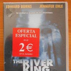 Cine: DVD THE RIVER KING - EDWARD BURNS - NUEVA, PRECINTADA (FM). Lote 140000518