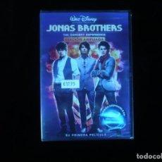 Cine: JONAS BROTHERS THE CONCERT EXPERIENCE - DVD NUEVO PRECINTADO. Lote 179397115