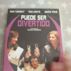 Cine: DVD. PUEDE SER DIVERTIDO. PRECINTADO. DESCATALOGADO. CON TONI CANTÓ Y ANA TORRENT. CINE ESPAÑOL.. Lote 140011757