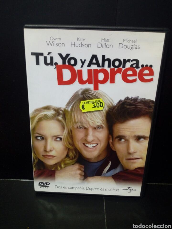 TU ,YO Y AHORA ..DUPREE DVD (Cine - Películas - DVD)