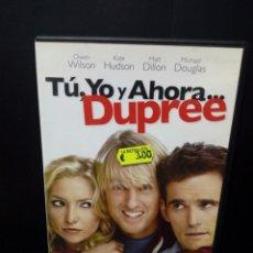 Cine: TU ,YO Y AHORA ..DUPREE DVD. Lote 140014765