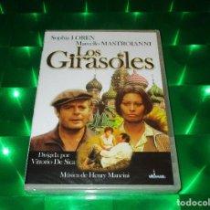 Cine: LOS GIRASOLES - DVD - E. MI007 - MIRAMAR - PRECINTADA - SOPHIA LOREN - MARCELLO MASTROIANNI. Lote 140031622