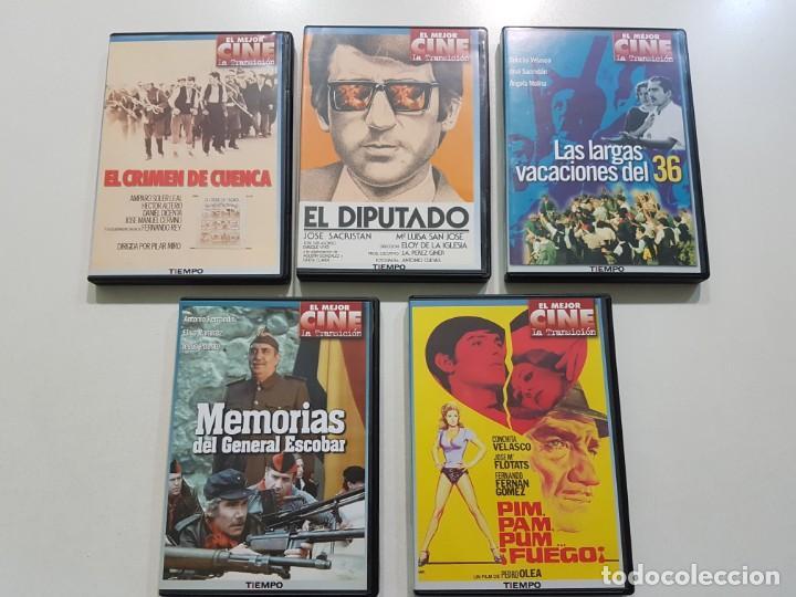 CINE DE LA TRANSICIÓN 5 DVD´S (Cine - Películas - DVD)