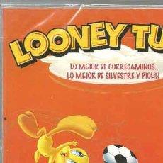 Cine: LO MEJOR DE CORRECAMINOS. LO MEJOR DE SILVESTRE Y PIOLÍN 18 (EL PAÍS) - DVD CARTÓN NUEVO. Lote 140090354