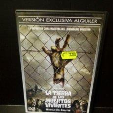 Cine: LA TIERRA DE LOS MUERTOS VIVIENTES DVD. Lote 140092212