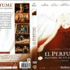 Cine: EL PERFUME. HISTORIA DE UN ASESINO. - DVD. TOM TYKWER. ALEMANIA. 2006. THRILLER. INTRIGA. DRAMA.. Lote 140096912