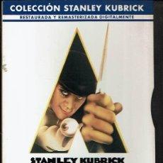 Cine: LA NARANJA MECÁNICA. - DVD. STANLEY KUBRICK. REINO UNIDO. 1971. DRAMA.. Lote 140097581