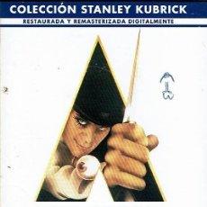 Cine: LA NARANJA MECÁNICA. - DVD. STANLEY KUBRICK. REINO UNIDO. 1971. DRAMA.. Lote 140098202