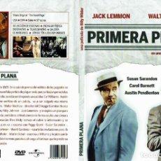 Cine: PRIMERA PLANA. - DVD. BILLY WILDER. EEUU. 1974. COMEDIA.. Lote 140100005