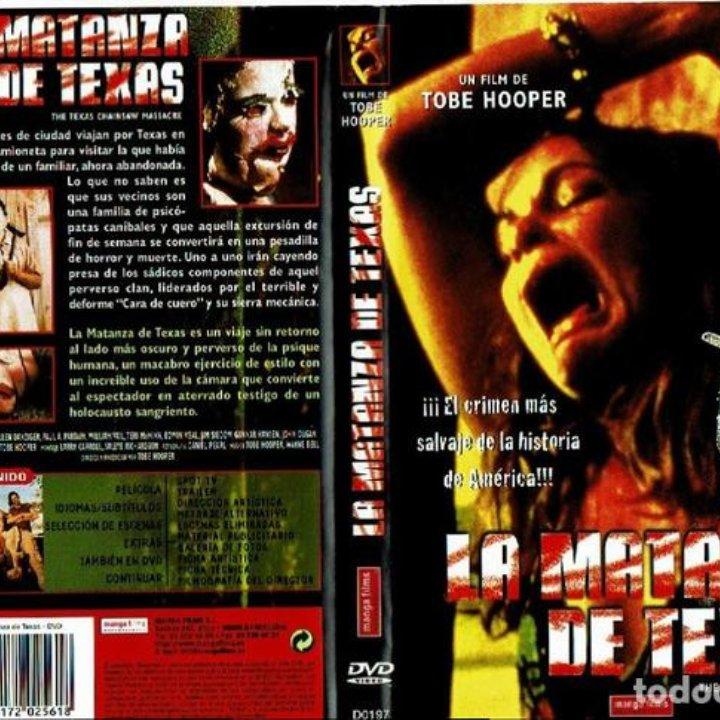 La Matanza De Texas Dvd Tobe Hooper Usa 1 Comprar Peliculas En Dvd En Todocoleccion 140100041