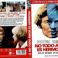 Cine: NO TODO AMOR ES HERMOSO. - DVD. J. LEE THOMPSON. REINO UNIDO. 1970. DRAMA.. Lote 140100277