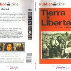 Cine: TIERRA Y LIBERTAD - DVD. KEN LOACH. REINO UNIDO. 1995. DRAMA.. Lote 140101745
