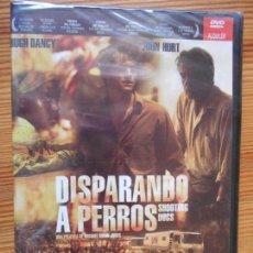 Cine: DVD DISPARANDO A PERROS - JOHN HURT - NUEVA, PRECINTADA (FÑ). Lote 140115358