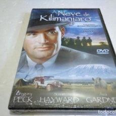 Cine: A NEVE DE KILIMANJARO LAS NIEVES DEL KILIMANJARO DVD NUEVO PRECINTADO VERSIÓN PORTUGUESA AUDIO ESPAÑ. Lote 140120254