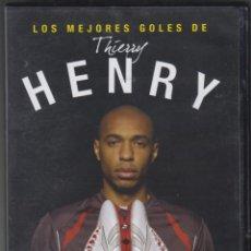 Cine: LOS MEJORES GOLES DE THIERRY HENRY DVD 2007 EL MUNDO DEPORTIVO 30 MINUTOS. Lote 140160682