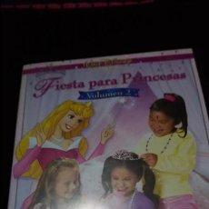 Cine: DVD FIESTA PARA PRINCESAS 2 DVD. Lote 140161714