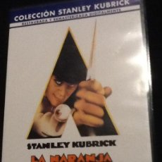 Cine: DVD. LA NARANJA MECÁNICA. STANLEY KUBRICK.. Lote 140196750