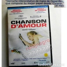 Cine: CHANSON D'AMOUR DVD PELÍCULA GÉRARD DEPARDIEU CÉCILE DE FRANCE XAVIER GIANNNOLI - EXTRAS CANNES ETC. Lote 140207934