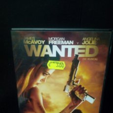 Cine: WANTED DVD. Lote 140224908