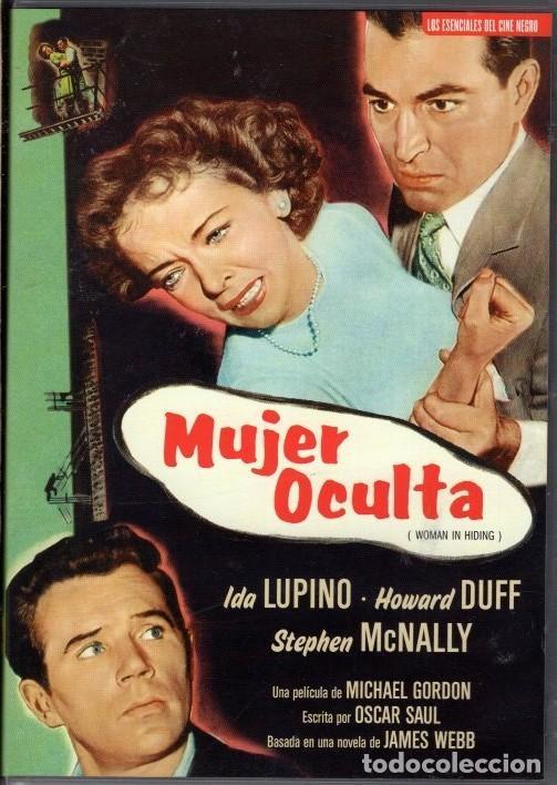 MUJER OCULTA DVD (IDA LUPINO +JAMES DUFF): .OBRA MAESTRA DEL CINE NEGRO...Y UN RETRATO DE LA EPOCA (Cine - Películas - DVD)