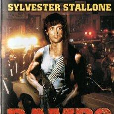 Cine: RAMBO ACORRALADO SYLVESTER STALLONE. Lote 140414010
