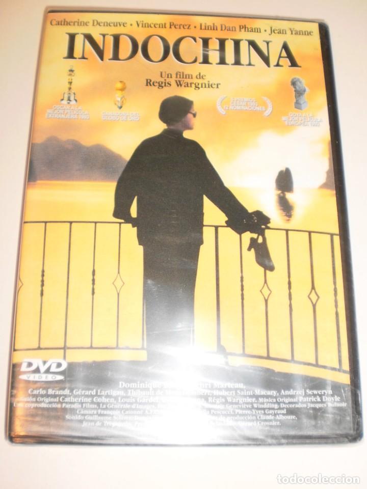 DVD INDOCHINA. CATHERINE DENEUVE. 145 MINUTOS (PRECINTADA) (Cine - Películas - DVD)
