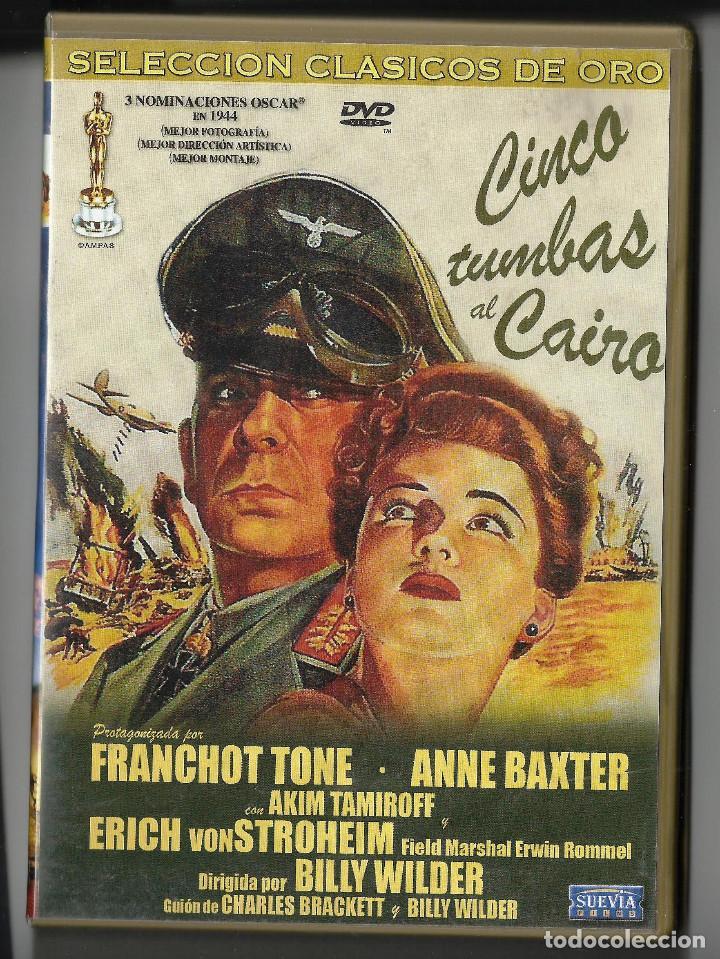 CINCO TUMBAS AL CAIRO. BILLY WILDER. DVD (Cine - Películas - DVD)