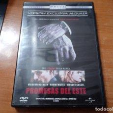 Cine: PROMESAS DEL ESTE DVD DEL AÑO 2008 ESPAÑA VIGGO MORTENSEN NAOMI WATTS VINCENT CASSEL. Lote 140637802