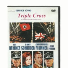 Cine: DVD TRIPLE CROSS, TERENCE YOUNG. Lote 140703418