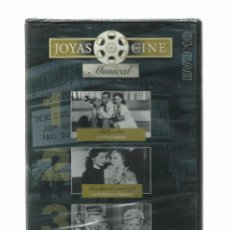 Cine: DVD JOYAS DEL CINE, GENERO MUSICAL, TRES PELICULAS. Lote 140704066