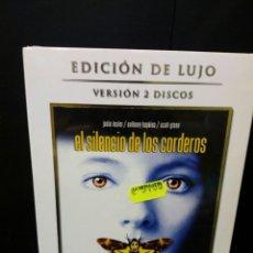 Cine: EL SILENCIO DE LOS CORDEROS DVD. Lote 140708872