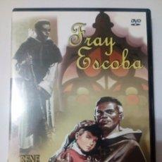 Cine: DVD FRAY ESCOBA - RENÉ MUÑOZ. Lote 140737789