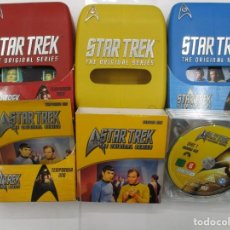 Cine: COLECCION COMPLETA 3 TEMPORADAS STAR TREK THE ORIGINAL SERIES - DESCATALOGADA METRAJE INEDITO. Lote 140842226