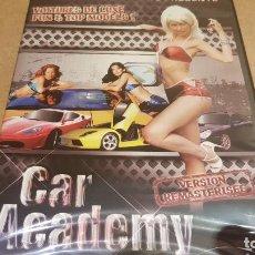 Cine: CAR ACADEMY / VOITURES DE LUXE FUN & TOP MODELS / DVD - PRECINTADO.. Lote 140910514