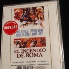 Cine: EL INCENDIO DE ROMA DVD . Lote 140950462