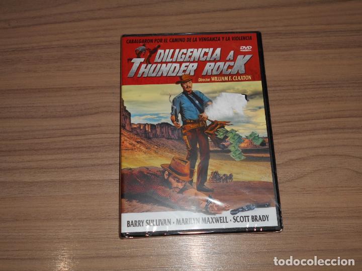 DILIGENCIA A THUNDER ROCK DVD BARRY SULLIVAN NUEVA PRECINTADA (Cine - Películas - DVD)
