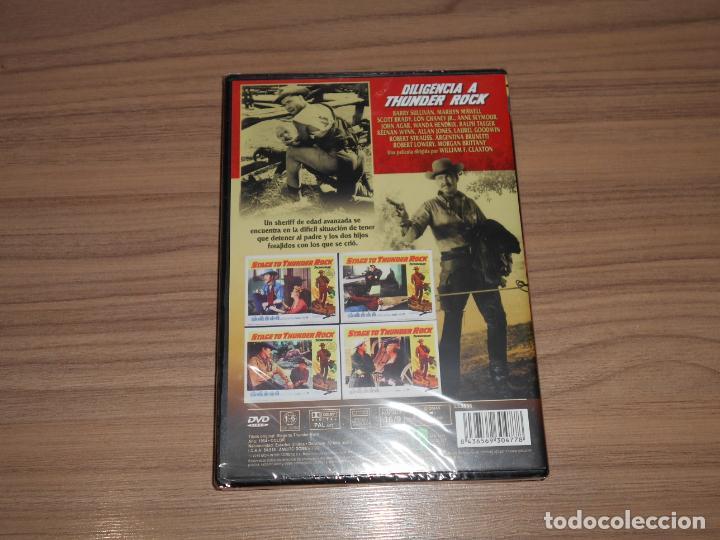 Cine: DILIGENCIA a THUNDER ROCK DVD Barry Sullivan NUEVA PRECINTADA - Foto 2 - 269215413