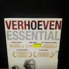 Cine: VERHOEVEN ESSENTIAL DVD. Lote 141124292