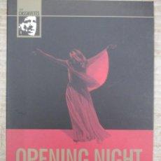 Cine: OPENING NIGHT - JOHN CASSAVETES - DVD. Lote 141175258
