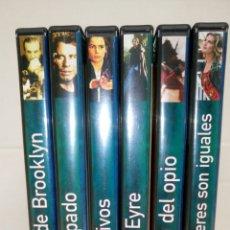 Cine: LOTE 6 DVDS. SUELTOS 1€. REVISTA TIEMPO.. Lote 141191473