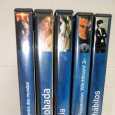 Cine: LOTE 5 DVDS. SUELTOS 1€. REVISTA TIEMPO.. Lote 141196974