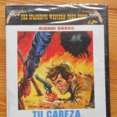 Cine: DVD TU CABEZA POR MIL DOLARES - GIANNI GARKO - NUEVA, PRECINTADA (N3). Lote 141199454
